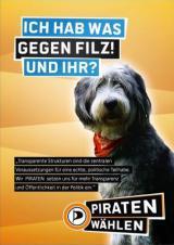 Bayern-24/7.de - Bayern Infos & Bayern Tipps | Plakat der Piratenpartei im Wahlkampf 2013