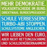 Schleswig-Holstein-Info.Net - Schleswig-Holstein Infos & Schleswig-Holstein Tipps | Kernforderungen der Partei FREIE WÄHLER