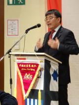 China-News-247.de - China Infos & China Tipps | Foto: China Forum Berlin: Botschaftsrat Chen Ping würdigt die vertrauensvolle Zusammenarbeit.