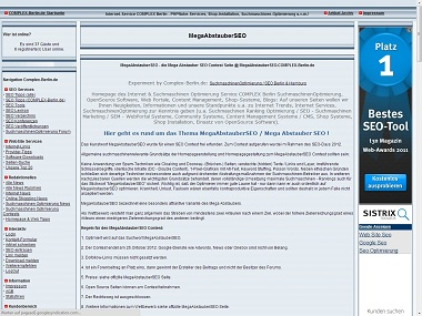Software Infos & Software Tipps @ Software-Infos-24/7.de | Ein neuer SEO-Wettbewerb: MegaAbstauberSEO!