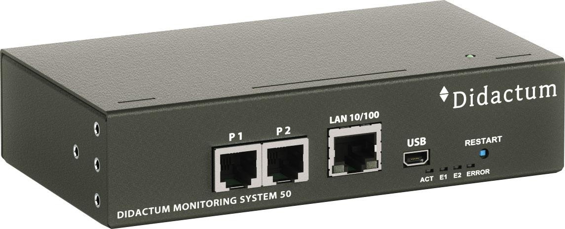 Internet Portal Center | Überwachungssystem - Didactum Monitoring System 50