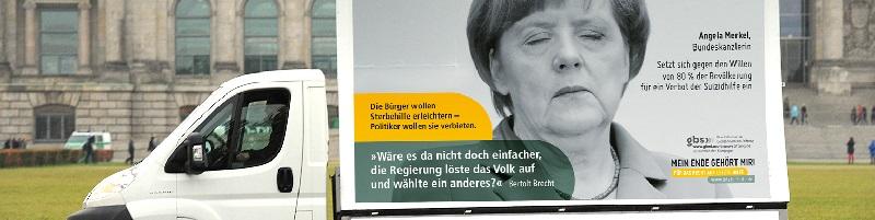 Deutsche-Politik-News.de | Plakatkampagne >>  Ein Musterbeispiel für christlichen Lobbyismus <<
