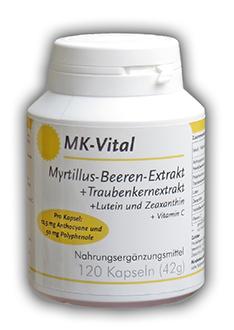 Shopping -News.de - Shopping Infos & Shopping Tipps | Myrtillus-Kapseln von MK-Vital