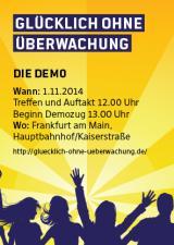 Wiesbaden-Infos.de - Wiesbaden Infos & Wiesbaden Tipps | Auch der Planungsstand der Glücklich durch Überwachung-Demo kam zur Sprache.
