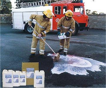 Neue Produkte @ Produkt-Neuheiten.Info | Öl-Reinigungsmittel / Öl-Fleckentferner für Asphalt, Hartböden, Straßen etc.