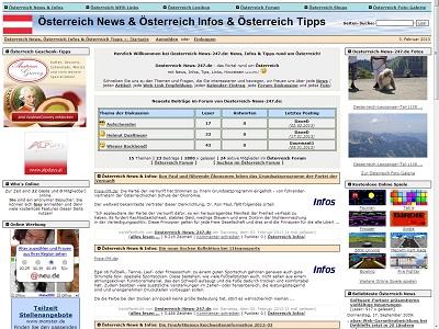 PHPNuke Service DE - rund um PHP & Nuke | Screenshot Oesterreich-News-247.de