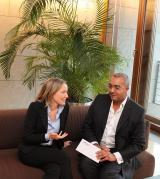 Wiesbaden-Infos.de - Wiesbaden Infos & Wiesbaden Tipps | Bundesministerin Dr. Kristina Schröder mit Stifter Jean-Dominique Risch