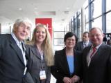 Nordrhein-Westfalen-Info.Net - Nordrhein-Westfalen Infos & Nordrhein-Westfalen Tipps | von links: Dr. Karl Göckmann (Ehrenmitglied), Bianca Dausend (Pressesprecherin), Christine Lieberkne