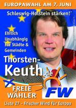 Baden-Württemberg-Infos.de - Baden-Württemberg Infos & Baden-Württemberg Tipps | FREIE WÄHLER GEMEINSCHAFT Thorsten Keuth Plakat Europaparlament 2009