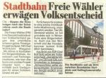 Schleswig-Holstein-Info.Net - Schleswig-Holstein Infos & Schleswig-Holstein Tipps | FREIE WÄHLER hamburg prüfen einen Volksentscheid gegen den geplanten Bau einer Stadtbahn!