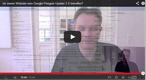 Suchmaschinenoptimierung & SEO - Artikel @ COMPLEX-Berlin.de | Foto: Video von Hanns Kronenberg zum Penguin Update 2.0