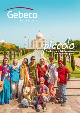 Deutsche-Politik-News.de | Der neue Kleingruppen Katalog von Gebeco