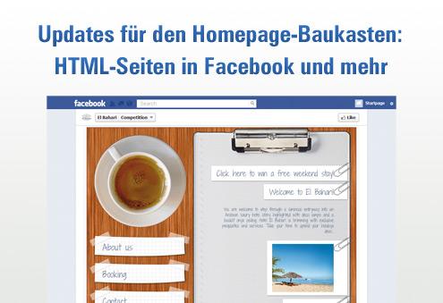 Duesseldorf-Info.de - Düsseldorf Infos & Düsseldorf Tipps | Eigene HTML-Seiten in Facebook-Fanpage erstellen und viele neue Features - Alfahosting erweitert seinen Homepage-Baukasten