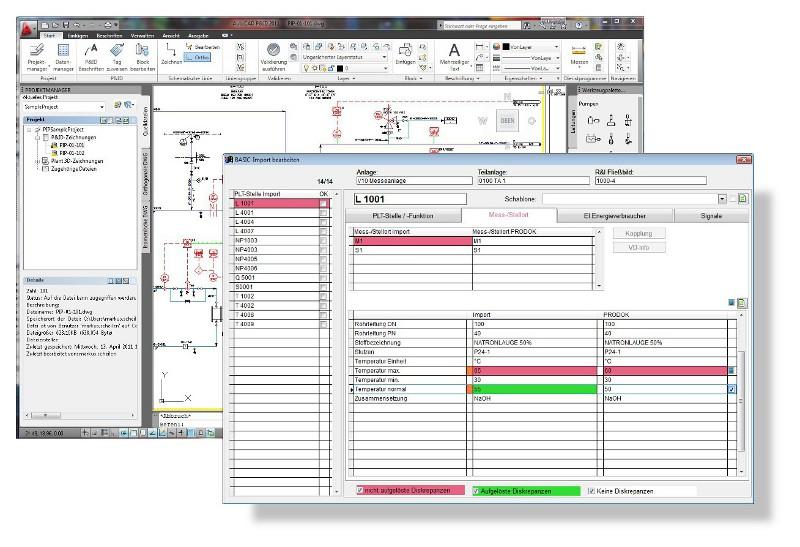 Technik-247.de - Technik Infos & Technik Tipps   R&I-Fließbild in AutoCAD P&ID und Übersicht der Änderungen