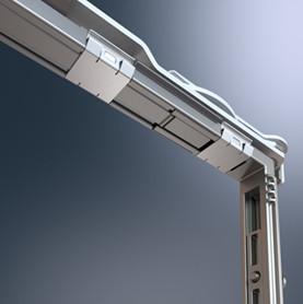 Schüco AvanTec SimplySmart: Die neue Klipstechnik ermöglicht die Beschlagsmontage von außen – ohne geöffnete Ecken.