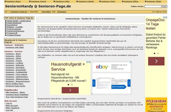 Ost Nachrichten & Osten News | Seniorenhandy @ Senioren-Page.de