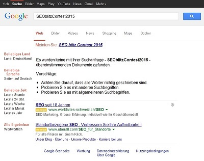 Suchmaschinenoptimierung / SEO - Artikel @ COMPLEX-Berlin.de | Der neue SEO Contest: SEOblitzContest2015!