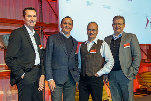 Frankfurt-News.Net - Frankfurt Infos & Frankfurt Tipps | Die Geschäftsführung der SGBDD: v.l. Knut Söller, Frank Bielfeld, Udo Brandt, Dieter Babiel.