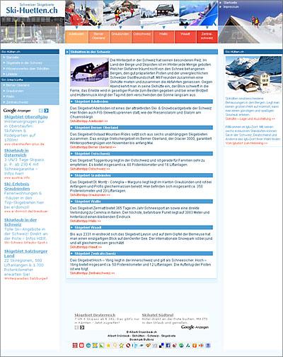 Schweiz-24/7.de - Schweiz Infos & Schweiz Tipps | Ski-Huetten.ch