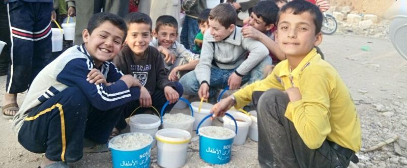 Deutsche-Politik-News.de | SOS-Kinderdörfer haben die Nothilfe in Aleppo teilweise wieder aufgenommen