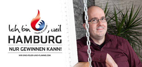 News - Central: Olympia-Botschafter Steffen Ehlert ist Feuer und Flamme für Hamburg