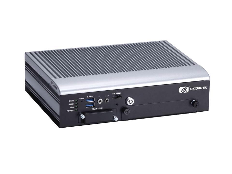 Internet Portal Center | AXIOMTEKs tBOX322-882-FL Lüfterloses Embedded System für den Transportation Sektor
