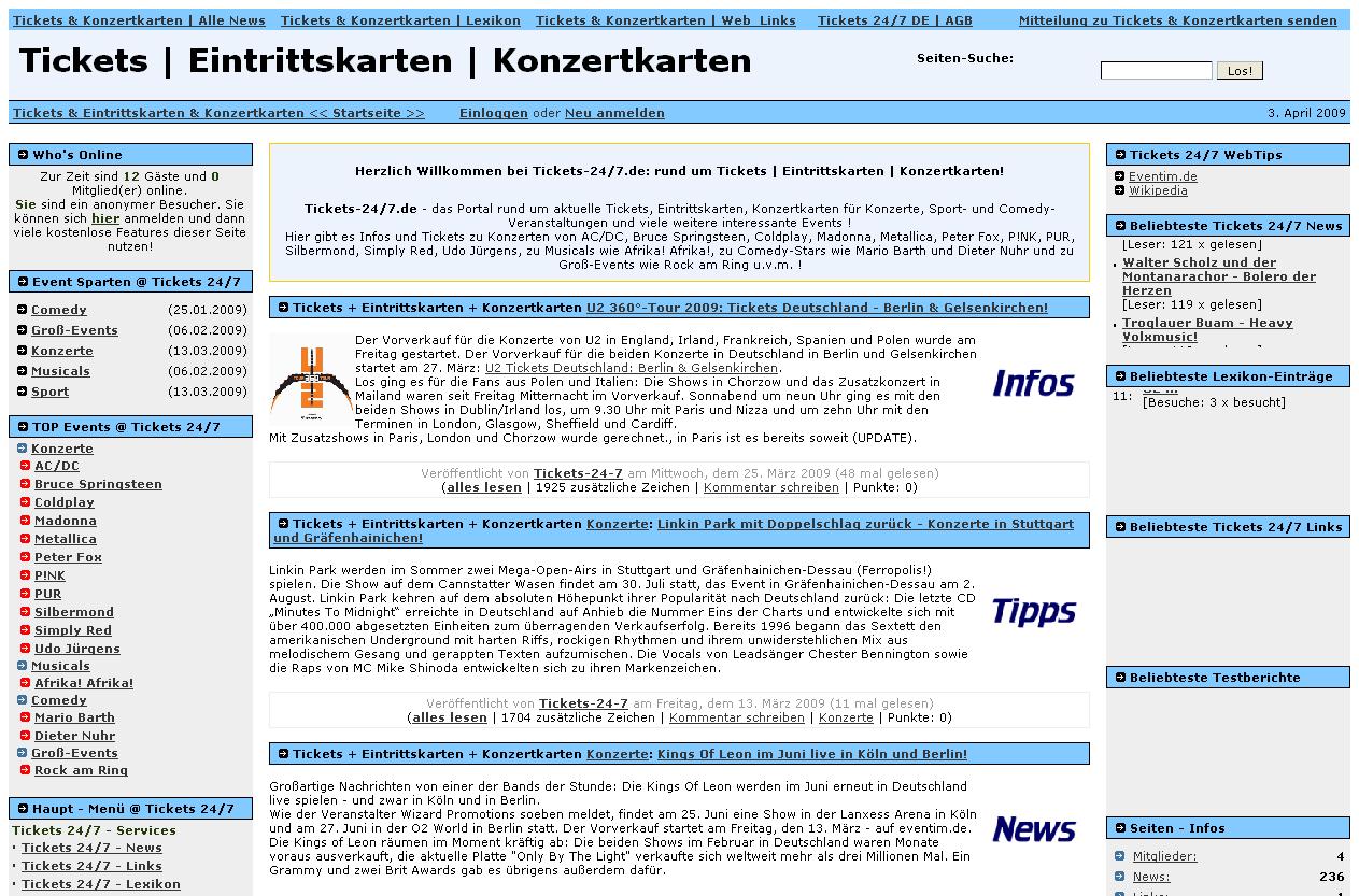 Modern Konzert Karten Layout Ensign - FORTSETZUNG ARBEITSBLATT ...