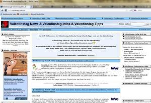PHPNuke Service DE - rund um PHP & Nuke | Foto: Screenshot Valentinstag-Infos.de