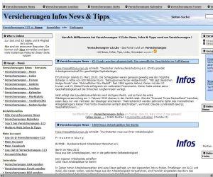 Freie Pressemitteilungen | Versicherungen Infos & Tipps @ Versicherungen-123.de