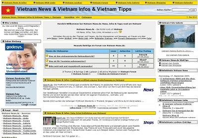 PHPNuke Service DE - rund um PHP & Nuke | Foto: Screenshot Vietnam-News.de