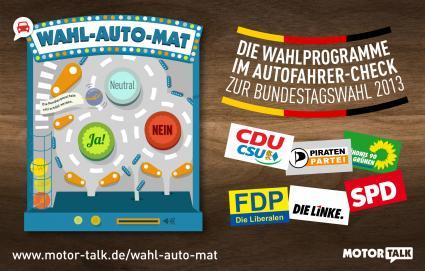 Deutsche-Politik-News.de | MOTOR-TALK wahl-auto-mat