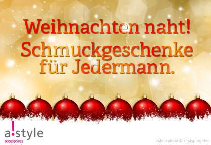 Baden-Württemberg-Infos.de - Baden-Württemberg Infos & Baden-Württemberg Tipps | Weihnachten naht! Schmuckgeschenke für jedermann