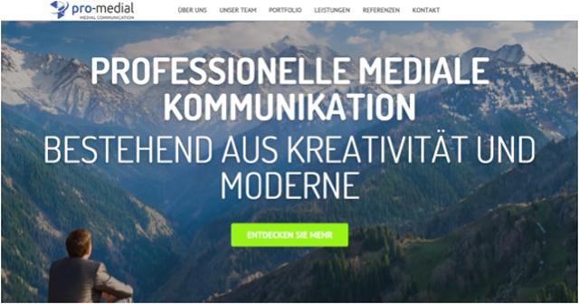 BetaversionDerNeuenProMedialWebseite