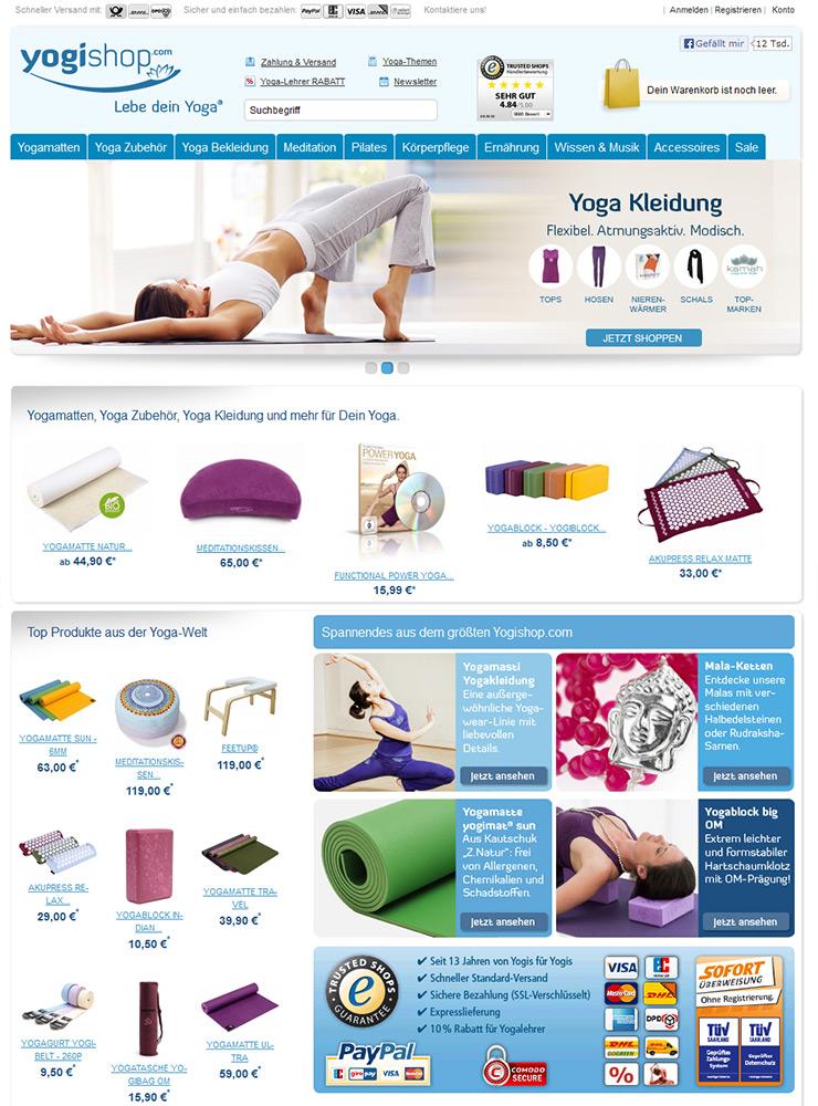 News - Central: Yoga-Produkte online kaufen auf http://www.yogishop.com